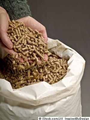 Pellets in Sackware
